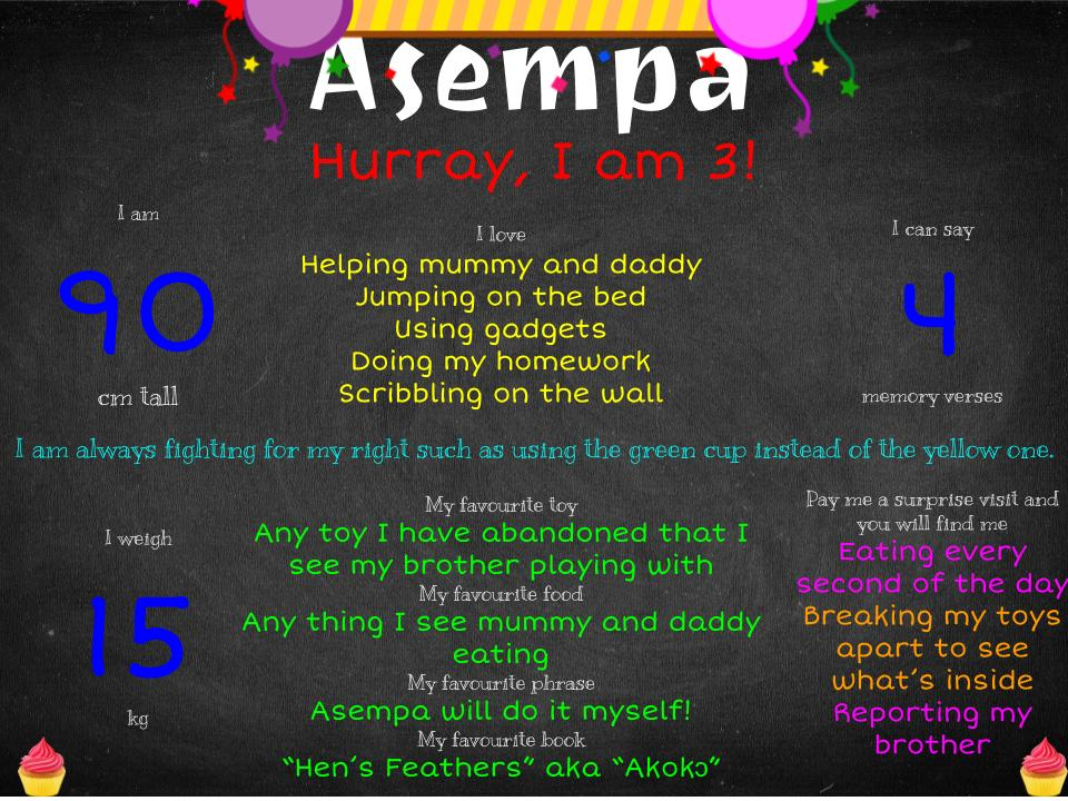 Three years - Asempa